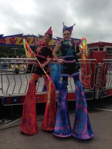Stilt Walkers for Carnival