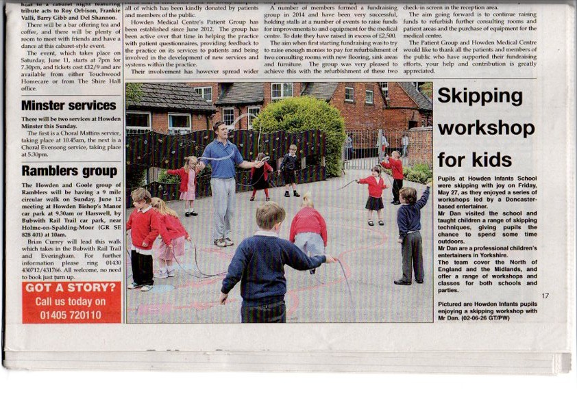 Skipping Workshop in Goole
