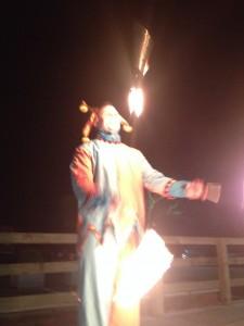 fire juggling jester