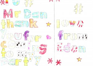 mr dan thank you card from eden