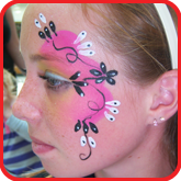 face painting in doncaster