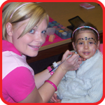 Face Painter in Yorkshire