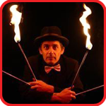 Fire Performer Yorkshire