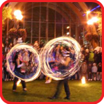 Fire Performers in Yorkshire