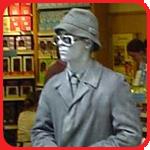 human statue yorkshire